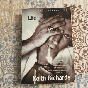 Keith Richards Memoir